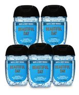 Bath and Body Works Pocketbac BEAUTIFUL DAY Antibacterial Hand Gel 5 pac... - $19.99