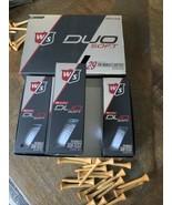 Wilson Staff Duo Soft+ Golf Balls - Dozen & 6x 50 Elite Golf balls (18 T... - $32.43