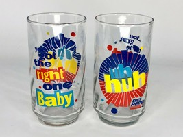 Diet Pepsi 'You Got The Right One Baby Uh Huh' Ray Charles - Vintage Glass - $9.49