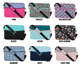 """Quip Brand Sm Padded Laptop Sleeve with Strap! QUIP Laptop case 13.5""""x10.25"""" NEW image 8"""
