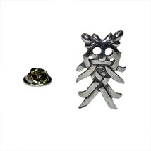 Viking Odin's Mask Pewter Badge Lapel /tie Pin Badge 3d effect with clip