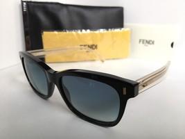 New FENDI FF 0086/S YPP08 53mm Clear Black Women's Sunglasses - $259.99