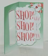 Hallmark XMH 200 4 Santa Ho Ho Ho Christmas Card Gift Card Holder Package 3 image 2