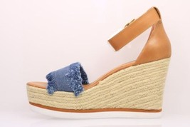 Sandal Wedge Fringed Women's Sz Valley Platform 90 Madden Blue Steve Denim 10; Tfq8Tw
