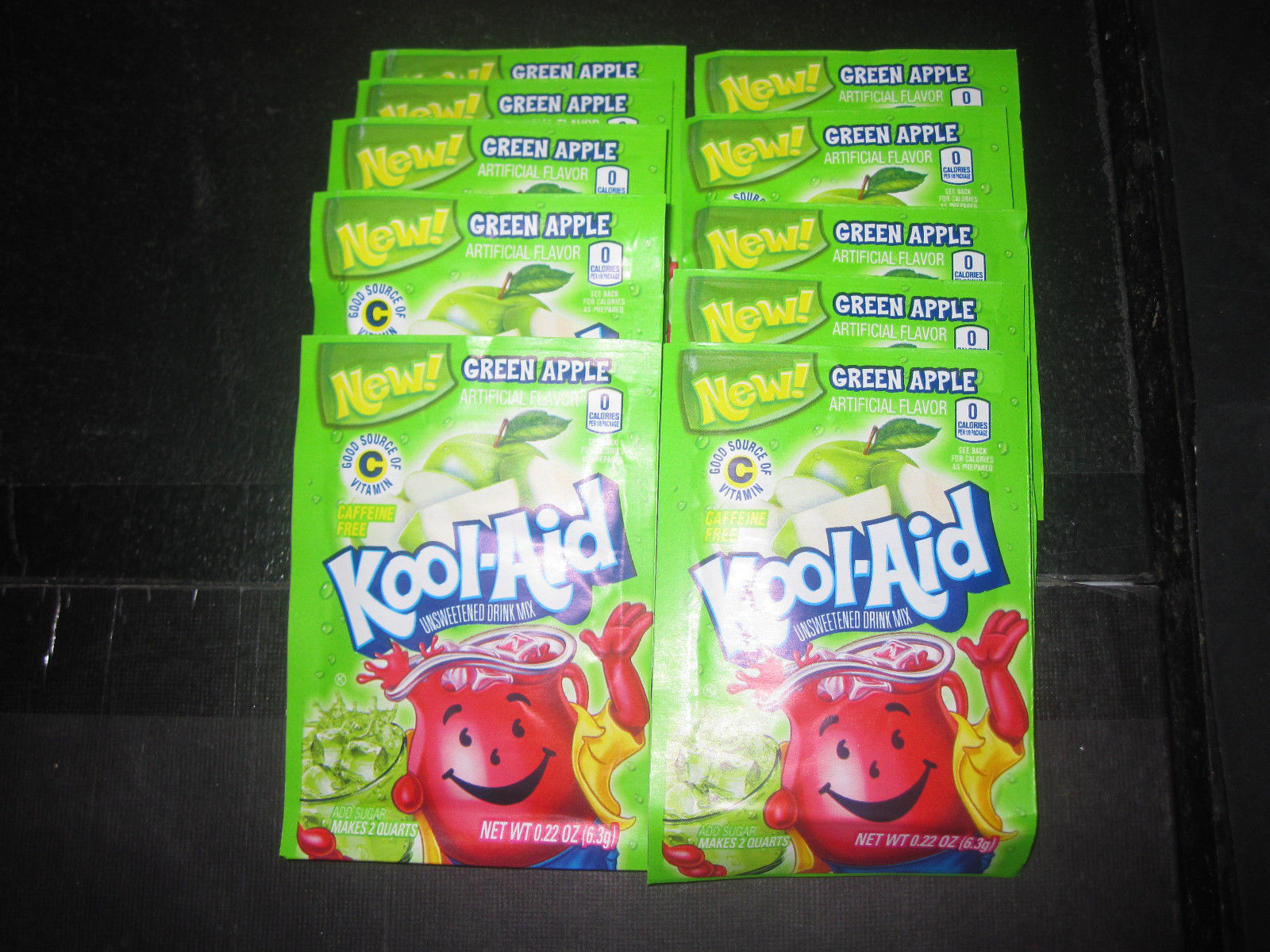 Kool-Aid Drink Mix Green Apple 10 Count