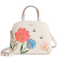 Kate Spade Picnic Perfect Bee LOTTIE Leather Satchel PXRU8822 SOLD OUT! NWT - ₨32,726.42 INR