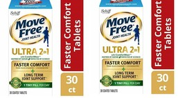 Move Free Ultra 2 in 1 with Comfort Max, 30 ea(pack of 2) - $39.99