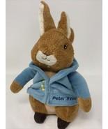"Kids Preferred Plush Peter Rabbit 8"" Stuffed Animal Blue Jacket Machine ... - $12.99"