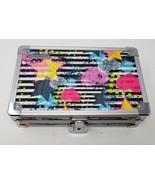 "Hand Drawn Hearts and Stars Vaultz Locking Supply Box, 8"" x 5"" x 2.5""  - $8.90"