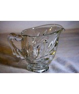 Indiana Glass Willow Clear Creamer Line 1008 - $3.77