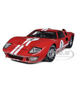 1966 Ford GT-40 MK 2 Gulf Blue Dirty Version #1 1/18 Diecast Car Model b... - $99.99