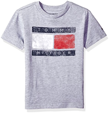 Primary image for Tommy Hilfiger Kid Little Boys' Short Sleeve Tommy Flag Tee - Choose SZ/Color