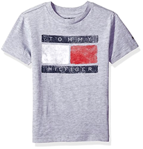 Tommy Hilfiger Kid Little Boys' Short Sleeve Tommy Flag Tee - Choose SZ/Color - $22.36+