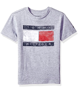 Tommy Hilfiger Kid Little Boys' Short Sleeve Tommy Flag Tee - Choose SZ/... - $22.36+