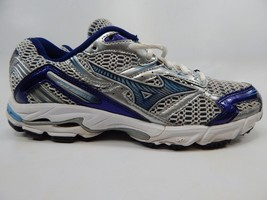 Mizuno Wave Inspire 6 Size 8 M (B) EU 38.5 Women's Running Shoes Blue Silver