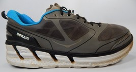 Hoka One One Conquest Men's Running Shoes Size US 14 M (D) EU 49 1/3 Gray Blue