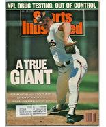 1989 Sports Illustrated San Francisco Giants NFL Drugs Vollyball Bislett... - $2.50