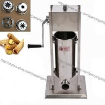 3/5/7/10/15L Stainless Steel Manual Spanish Donuts Churrera Churro Machi... - $4.924,61 MXN+
