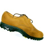 Nike Men's Air Zoom Gore-Tex Wickie Last Brown Leather Golf Shoes Size 6 - $40.03