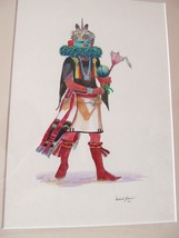 Navajo Bahah-Zhonie FRANK AUSTIN ('38) Art Watercolor ORIGINAL Signed '6... - $6,794.99