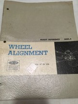 1967 Ford Wheel Alignment Vol 67 - $17.41