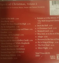 Spirit of Christmas, Volume 2 Cd image 2