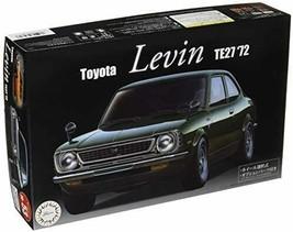 Fujimi model 1/24 inch up series No.53 Toyota Levin TE27 '72 plastic mod... - $88.78