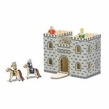 Melissa & Doug Fold & Go Wooden Castle (Castle|Standard Packaging) - $41.77