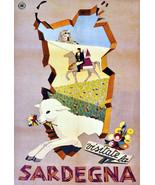 "20x30""Poster on Canvas.Home Room Interior design.Travel Italy.Sardegna.6507 - $60.78"