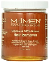 Moom For Men Organic Hair Remover Refill, 12-Ounce Jar - $23.92
