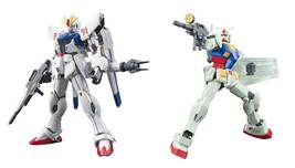 2 Gundam Models - F91 EFSF Prototype Attack and HGUC RX-78-2 Gundam Revive - $35.63