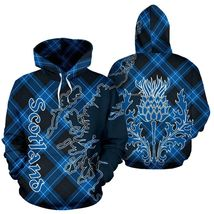 Unisex Scotland Thistle 3D Hoodie All Over Print - $49.99