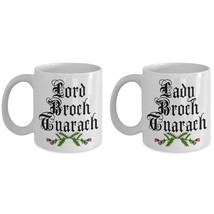 Lord Broch Tuarach Lady Outlander Mug Set Outlander Fan Gift Jamie Fraser JAMMF - $25.93+
