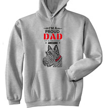 Scottish Terrier - Im A Proud Dad - New Cotton Grey Hoodie - $38.98