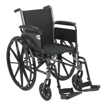 Drive Medical Cruiser III With Full Arms and Footrests 18'' - $175.25