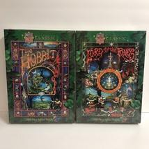 The Hobbit & Lord Of The Rings J.R.R. Tolkien Master Pieces Classic 1000... - $96.74