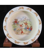 """R.D. Bunnykins Round Baby Bowl """"See Saw""""  - 6"""" - $9.99"""
