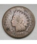 1866 Indian Head Cent AG Coin AE171 - $24.12