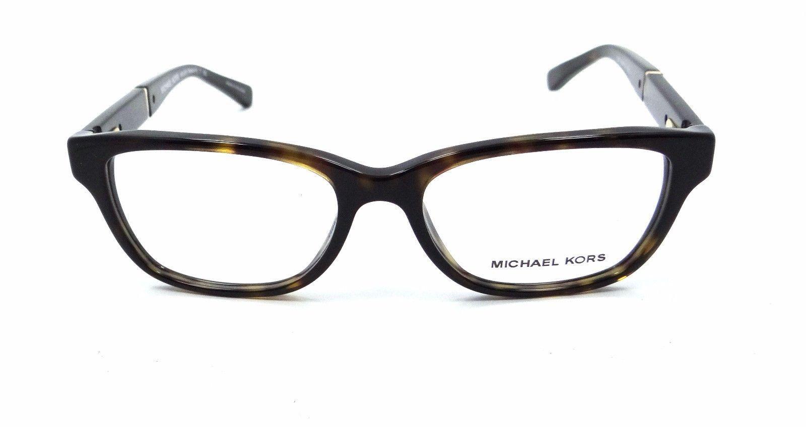 New Michael Kors Rx Eyeglasses Frames MK 4031 3180 Rania IV 49x15 Dark Tortoise