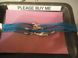 << Braided Strap Bracelet **Giraffe Arrows** >> We Combine Shippin - $3.75