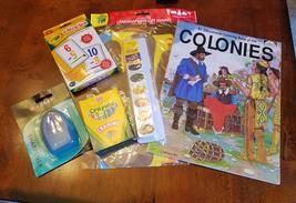 6 kids art craft supply lot crayons watercolor ... - $12.99
