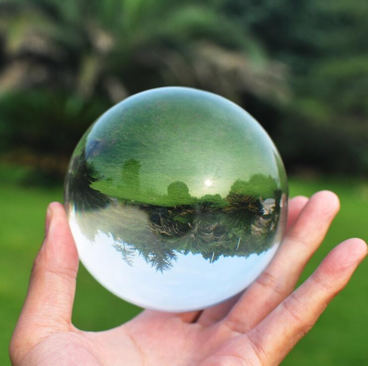 Primary image for 70mm Crystal Ultra Clear Acrylic Ball Manipulation contact Juggling fuuny gadget