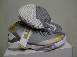 Mens NIKE ZOOM LEBRON JAMES SOLDIER VI TB basketball shoes SIZE 18 grey,... - $108.85