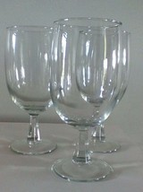 "Vintage Sherry Wine Glasses 8"" Set Of Three  - $9.90"