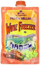 Lt. Blender's Wine Freezer, Peach Bellini, 9.7-Ounce Pouches Pack of 3