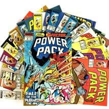 Power Pack 16 Comic Book Lot Run 31-46 Marvel VF Punisher X-Factor New Mutants - $24.70