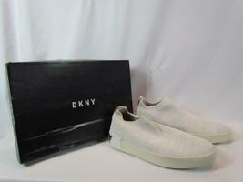 NIB DKNY Donna Karen New York Sock Sneaker Beige Sz 8.5M - $113.04
