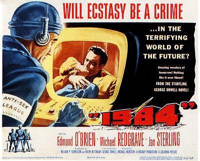 Primary image for 1984 - 1956 - Movie Poster