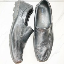Merrell Loafers Pebble Black Leather Shoes Mens Size 15 US  - $41.43