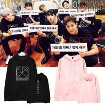 KPOP Monsta x Cap Hoodie BE BEAUTIFUL Concert Hoody 2017 Unisex Casual S... - $13.94+